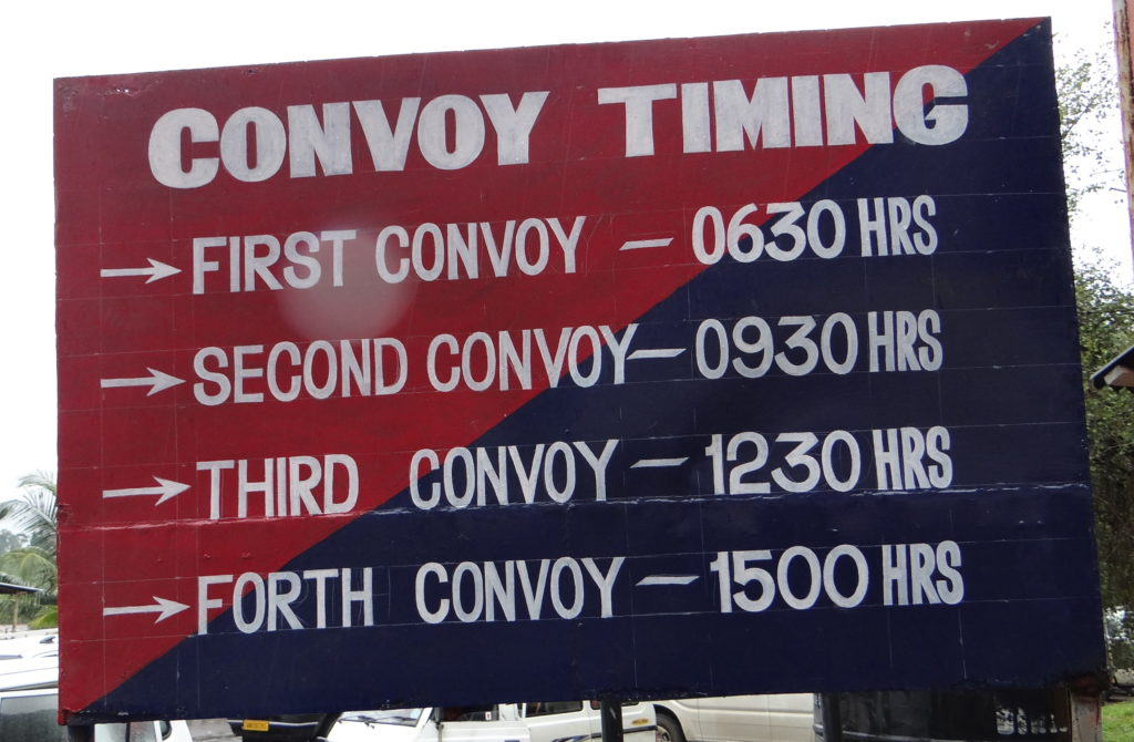 Convoy timing